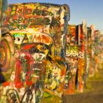 """Route 66. Amarillo. Cadillac Ranch."" by AlanCopson"