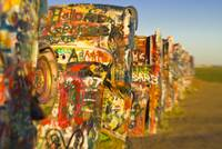 Route 66. Amarillo. Cadillac Ranch.