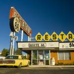 """The Route 66 Restaurant, Santa Rosa, New Mexico"" by AlanCopson"