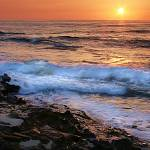 """""""Sunset Sea"""" by BarbaraBrownPhotography"""