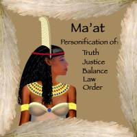"""Maat - Egyptian Goddess"" by cathighart"