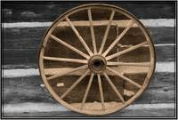 country western wagon wheel