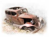 1934 Ford Resting and Rusting