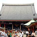 """crowded sensoji."" by paperclipexpress"