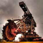 """Bucket-wheel excavator"" by Batram"