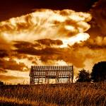 """The Leina Barn in Sepia"" by Batram"
