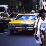 """New York Taxi 1982"" by gabbiano"