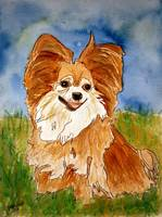 chihuahua 2 painting