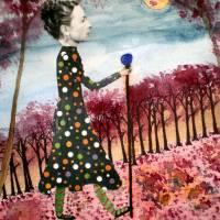 Strolling Sage Art Prints & Posters by Pamella Jo