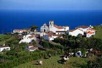 Village in the Azores