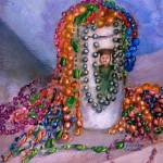 """Mardi Gras Beads, Still Life"" by Lenora"