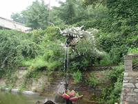 Xiangshui Temple: Dragon and Frog Fountain