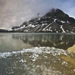 """Bow Lake & Crowfoot Mountain"" by fikretonal"