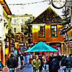 """Faringdon Xmas Market."" by annemade-art"