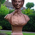 """Catherine Booth, Bust Close-up  (14601-RDA)"" by rodjohnson"