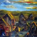 """Village abstract"" by tomkuehl"