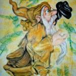 """Ochre Wizard"" by anichols111"
