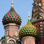 """Pointed Domes of St. Basil"" by DonnaCorless"