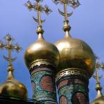 """Domes of the Upper Saviour Cathedral 2"" by DonnaCorless"