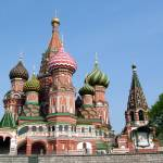 """Cathedral of St Basil the Blessed"" by DonnaCorless"