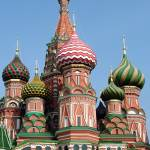 """Cathedral of St. Basil the Blessed (vert)"" by DonnaCorless"