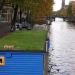 """Amsterdam Houseboats"" by Cayce_Dagenhart"