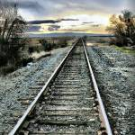 """Lonesome Rails"" by BarbaraBrownPhotography"