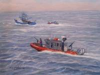 Coast Guard In Pursuit