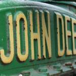 """Vintage John Deere Tractor"" by cariofthevalley"