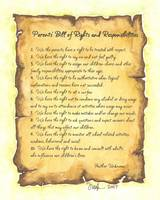 Parents Bill of Rights