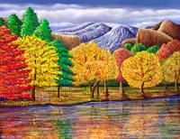 Another Colorful Landscape Painting