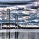 """Mackinac Bridge, Michigan"" by cfoxtrot"