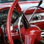 """vintage car study color"" by tiffanybeaneartist"