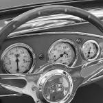 """vintage car study black & white"" by tiffanybeaneartist"