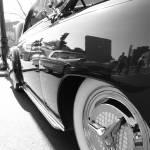 """vintage car study black & white"" by tiffanybeaneartist"
