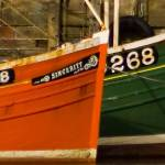 """""""Red & Green Boats"""" by kenart"""