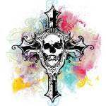 """skullcross"" by steveshead"