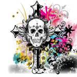 """""""skullcrosscolor"""" by steveshead"""