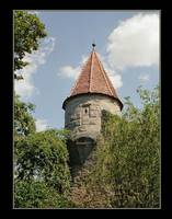 A Tower Among the Ruins of Rothenburg Castle