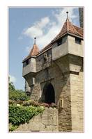 City Gate: Medieval Rothenburg Castle