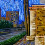 """""Daytona Beach"" original  acrylic painting"" by marnold"