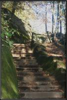 Hocking hills ohio  stairway