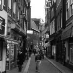 """Amsterdam Street - BW"" by cmaccubbin"
