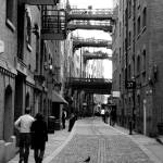 """London Street - BW"" by cmaccubbin"