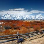 """Grand Teton Fenceline 2008"" by Teagarden"