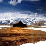 """Grand Teton Barn"" by Teagarden"