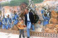 Me and Me and fresco a Laghouat (معركة الاغواط 185