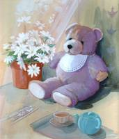 Afternoon tea with Teddy