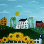 """SUNFLOWER HILLS by Maria Greene"" by mariagreene"