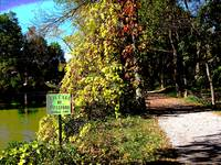 Pittsford towpath sign